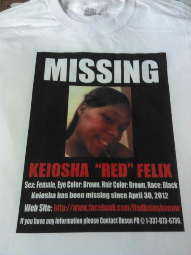 Find Keiosha Felix T-shirts